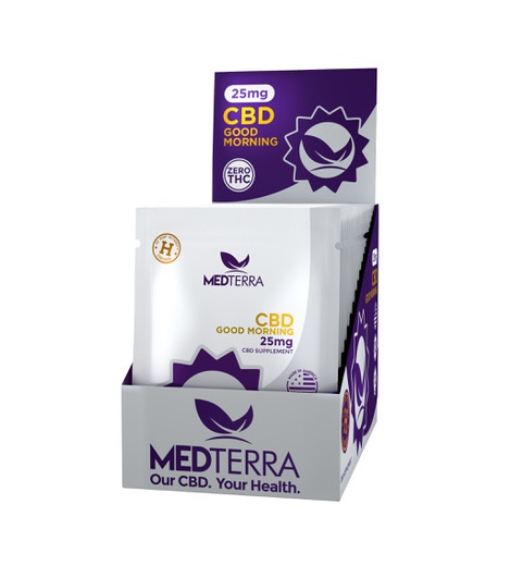 MEDTERRA CBD GOOD MORNING CAPSULES-25MG PACK