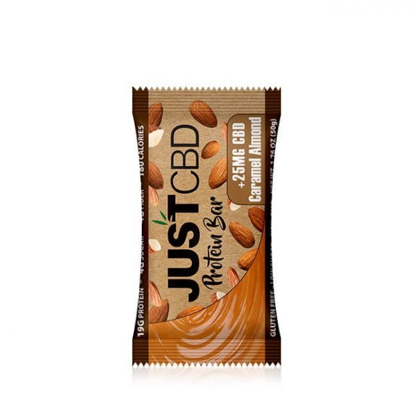 CBD PROTEIN BAR CARAMEL ALMOND 25 gm