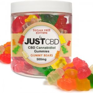 CBD GUMMIES BEARS SUGAR FREE  500 MG