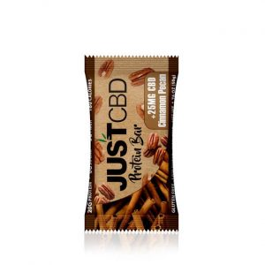 CBD PROTEIN BAR CINNAMON PECAN 25 gm