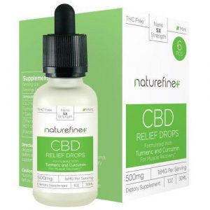 Naturefine Calm Drops 500mg