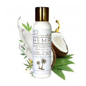 Body Lotion By Pinnacle Hemp CBD 4oz 200MG