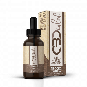 Vanilla CBD Wellness Tincture - 1500mg