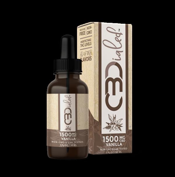 Vanilla CBD Wellness Tincture - 1500mg