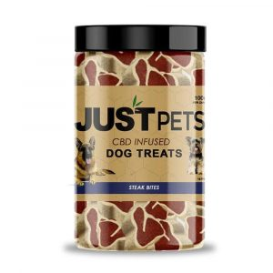 Just CBD Pets Steak Bites