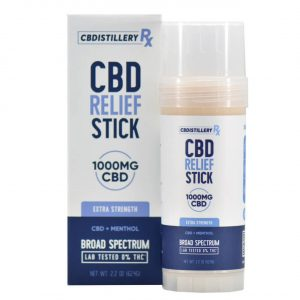CBD Cooling Relief Stick for Pain 1000mg