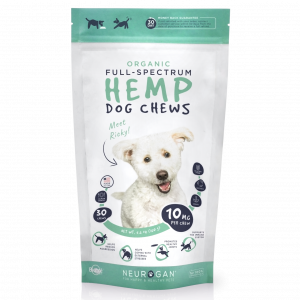 Neurogan organic hemp dog chews 30 ct